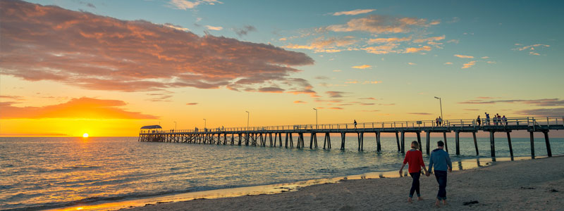 Ao Shun Australia - One of the many beautiful beaches located in Adelaide